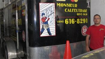 Monsieur Calfeutrage Montérégie Est